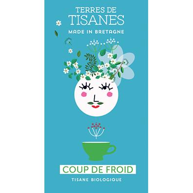 Tisane bio Coup de froid - producteur Terres de Tisanes