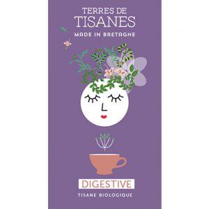 Tisane bio Digestive - producteur Terres de Tisanes