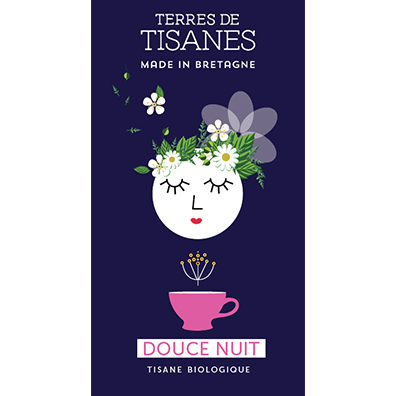 Tisane bio Douce Nuit - producteur terres de tisanes