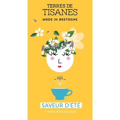Tisane bio Saveur d'été - producteur Terres de Tisanes
