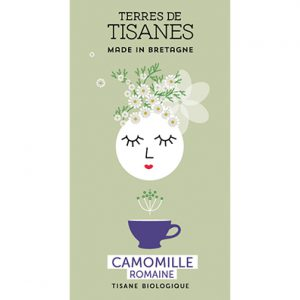 Tisane bio Camomille Romaine producteur Terres de Tisanes.