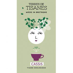 Tisane bio Cassis producteur Terres de Tisanes.
