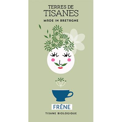 Tisane bio Frêne producteur Terres de Tisanes.