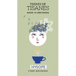 Tisane bio Hysope producteur Terres de Tisanes.
