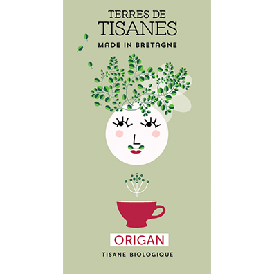 Tisane bio Origan producteur terres de tisanes
