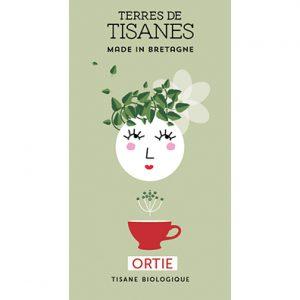 Tisane bio d'Ortie producteur terres de tisanes