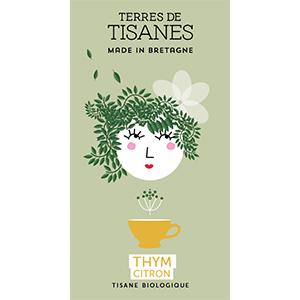 Tisane bio Thym Citron producteur Terres de Tisanes.