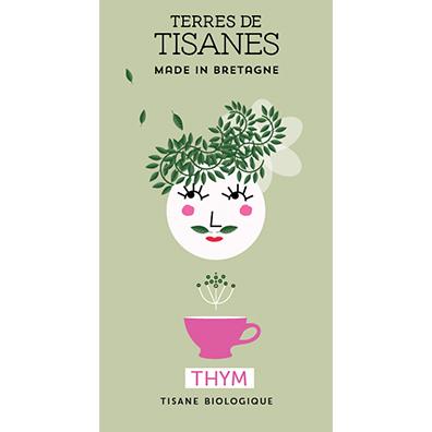 Tisane bio Thym de Provence producteur Terres de Tisanes.