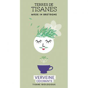 Tisane bio Verveine Odorante producteur Terres de Tisanes.